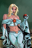 Uncanny X-Men Annual No.2 Cover: Emma Frost Posters by Yanick Paquette