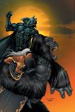 X-Men No.176 Cover: Storm, Black Panther and Super Apes Posters af Salvador Larroca