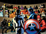 FF No.11: Mr. Fantastic, Captain America and Others Prints by Barry Kitson
