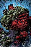 Hulk No.24: Hulk and Rulk Fighting Prints by Ed McGuinness