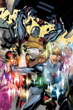 Secret Invasion: X-Men No.3 Cover: Colossus and Dazzler Affiches par Terry Dodson
