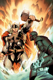 Thor No.3 Cover: Thor Poster by Olivier Coipel