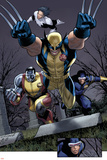Uncanny X-Men No.511 Group: Wolverine, Cyclops, Colossus and Northstar Posters by Greg Land