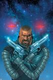 X-Treme X-Men No.40 Cover: Bishop Print by Salvador Larroca