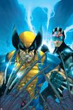 X-Men No.159 Cover: Wolverine and Havok Plakater af Salvador Larroca