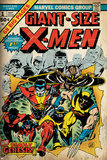 Marvel Comics Retro: The X-Men Comic Book Cover No.1 (aged) Print