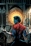 Greg Land - Nightcrawler No.3 Cover: Nightcrawler Fighting Plakát