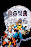 Alpha Flight No.9 Cover: Major Mapleleaf Prints by Clayton Henry