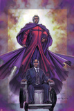 Excalibur No.4 Cover: Magneto and Professor X Prints