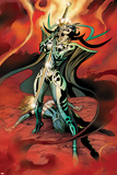 Avengers Prime No.4: Hela Standing Prints by Alan Davis
