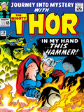 Marvel Comics Retro: The Mighty Thor Comic Book Cover No.120, Journey into Mystery; This Hammer Poster