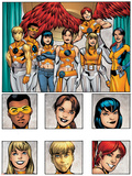 New X-Men: Academy X Yearbook Group: Prodigy Prints by Georges Jeanty