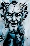 X-Men: Apocalypse Vs. Dracula Cover: Apocalypse and Dracula Poster por Clayton Henry