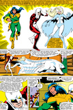 Uncanny X-Men No.139 Group: Shaman, Vindicator, Snowbird and Alpha Flight Prints by John Byrne