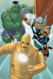 Avengers: The Origin No.5: Iron Man, Thor, Hulk, Wasp, Ant-Man Poster by Phil Noto