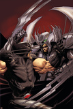 Cable No.14 Cover: Stryfe and Wolverine Print by Kaare Andrews