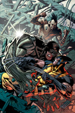 Wolverine: Origins No.32 Cover: Wolverine, Cyber and Daken Prints by Yanick Paquette