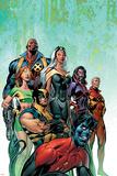 Uncanny X-Men No.445 Cover: Nightcrawler, Wolverine, Storm, Bishop, Marvel Girl and X-Men Posters by Alan Davis