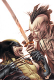 Wolverine Origins No.35 Cover: Wolverine and Daken Posters by Doug Braithwaite