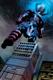Fantastic Four No.584: Galactus Flying Lámina por Steve Epting