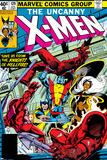 John Byrne - Uncanny X-Men No.129 Cover: Wolverine, Colossus, Storm and X-Men Plakát