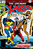 Dave Cockrum - Uncanny X-Men No.124 Cover: Storm, Colossus and Cyclops Plakáty