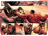 Hulk No.37: Panels with Thing and Red Hulk Fighting Posters by Elena Casagrande