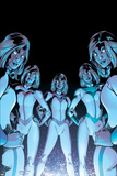 New X-Men No.17 Cover: Stepford Cuckoos Posters by Aaron Lopresti
