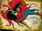 Marvel Comics Retro: The Amazing Spider-Man Comic Panel, Medusa (aged) Foto