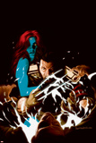 Wolverine No.35 Cover: Wolverine and Mystique Posters
