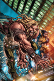 Weapon X: First Class No.1 Cover: Sabretooth and Wolverine Posters by Michael Ryan