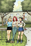 Spider-Man Loves Mary Jane Season 2 No.4 Cover: Mary Jane Watson, Stacy, Gwen, and Liz Allen Posters by Terry Moore