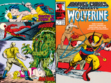Marvel Comics Presents No.5 Cover: Wolverine, Inquisitor, Marvel Comics and Thor Charging Print by John Buscema