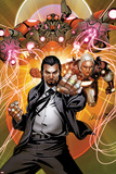 Invincible Iron Man No.511 Cover: Mandarin Posing Prints by Salvador Larroca