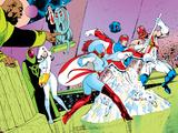 Alan Davis - X-Men Archives No.4 Cover: Captain Britain and Meggan Plakát