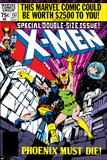 X-Men No.137 Cover: Cyclops, Grey and Jean Reprodukcje autor John Byrne