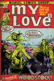 Marvel Comics Retro: My Love Comic Book Cover No.14, Woodstock (aged) Prints