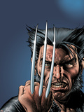 Wizard No.149 Cover: Wolverine and Logan Poster by Brian Bolland