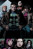 Avengers: The Childrens Crusade No.6: Panels with Madrox, Shatterstar, Strong Guy, and Rictor Prints by Jim Cheung