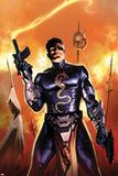 Secret Avengers No.5 Cover: Nick Fury Standing Print by Marko Djurdjevic