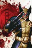 Wolverine: Manifest Destiny No.1 Cover: Wolverine Poster af Dave Wilkins