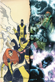 Uncanny X-Men: First Class Giant-Size Special No.1 Cover: Cyclops Prints by Skottie Young