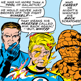 Marvel Comics Retro: Fantastic Four Comic Panel, Mr. Fantastic, Invisible Woman, Thing Photo