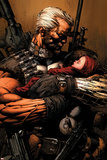 Uncanny X-Men No.493 Cover: Cable Plakaty autor David Finch