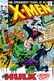 X-Men No.66 Cover: Hulk, Beast, Iceman and Angel Prints by Sal Buscema