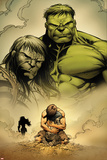 Incredible Hulk No.611: Hulk and Skaar Posters by Paul Pelletier