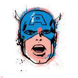 Marvel Comics Retro: Captain America Prints