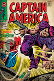 Marvel Comics Retro: Captain America Comic Book Cover No.108, the Trapster (aged) Prints