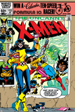 Dave Cockrum - Uncanny X-Men No.153 Cover: Shadowcat and Colossus Plakát