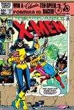 Dave Cockrum - Uncanny X-Men No.153 Cover: Shadowcat and Colossus Plakát